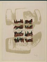 Henry Moore, '8 Reclining figures 63', 1963