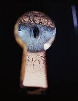 Irving Penn, 'Eye in Keyhole, New York', 1953