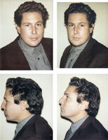 Andy Warhol, 'Julian Schnabel 4 Polaroids', 1983