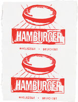 Andy Warhol, 'Hamburger (Double)', 1986