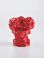 "Claes Oldenburg, 'Fire Plug Souvenir - ""Chicago August 1968"" (P. 10)', 1968"