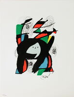 Joan Miró, 'Untitled from La Melodie Acide XII', 1980