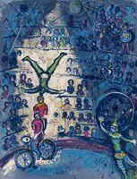 Marc Chagall, 'Cirque (Cramer 68)', 1967