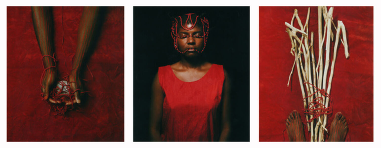 Maria Magdalena Campos-Pons, 'Red Composition', 1997