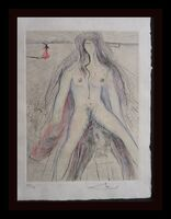 Salvador Dalí, 'La Venus au Fourrures Woman on Horse', 1968