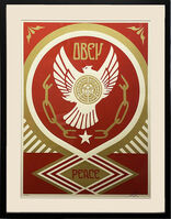 Shepard Fairey, ''Peace & Freedom Dove (Gift)' Framed', 2012