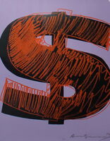 Andy Warhol, 'Dollar Sign (FS II.276)', 1982