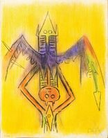 Wifredo Lam, 'Innoncence - from the suite Pleni Luna', 1974