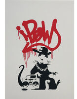 Banksy, 'Gangsta Rat', 0000