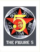 Robert Indiana, 'The Figure Five', 1997