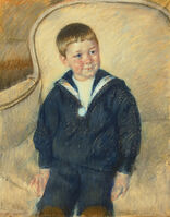 Mary Cassatt, 'Portrait of Master St. Pierre as a Young Boy', 1906