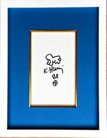 Keith Haring, 'Radiant Baby drawing. from the Collection of UACC President Cordelia Platt', 1988