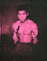 Russell Young, 'Ali (Monumental) - Electric Pink', 2019