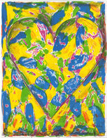 Jim Dine, 'The Blue Heart', 2005