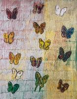 Hunt Slonem, 'Butterflies', 2017