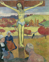 Paul Gauguin, 'The Yellow Christ', 1889