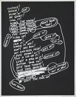 Mel Bochner, 'Silence', 2009