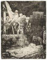 Rembrandt van Rijn, 'The Descent from the Cross by Torchlight', 1654