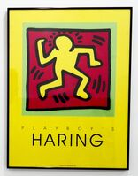 Keith Haring, 'Playboy's Haring (Poster)', 1991
