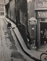 André Kertész, 'Rue Des Ursins, Paris', 1931 / 1973c