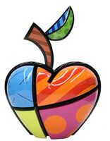 Romero Britto, 'New York Apple', 2016