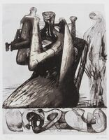Henry Moore, 'Mother and Child Shell (Cramer 432)', 1976