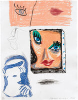 David Hockney, 'An Image of Celia Study, from Moving Focus Series (M.C.A.T. 280)', 1986