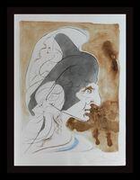 Salvador Dalí, 'Homage a Leonardo Condottiere ', 1975