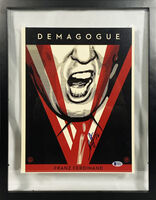 Shepard Fairey (OBEY), ''Demagogue' Signed Photo (framed)', 2016