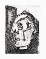 Pablo Picasso, 'Femme qui pleure devant un Mur', 1937