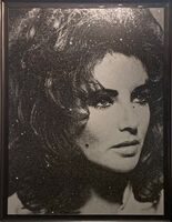 Russell Young, 'Elizabeth Taylor, Diamond Dust', 2011