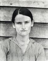 Walker Evans, 'Allie Mae Burroughs, Hale County, Alabama', 1936