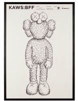 KAWS, 'BFF Exhibition Poster', 2016