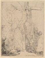 Rembrandt van Rijn, 'The Descent from the Cross: a Sketch', 1642