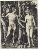 Albrecht Dürer, 'Adam and Eve', 1504