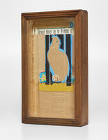 Joseph Cornell, 'Untitled (Parrot Collage; Grand Hotel de la Pomme d'Or)', 1954-1955