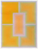 "Richard Anuszkiewicz, '""Inward Eye"", Edition of 100, Geometric Abstract Silkscreen', 20th Century"