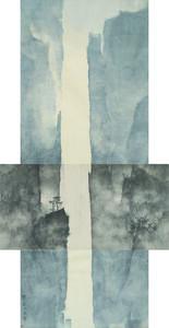 Li Huayi, 'Mountain and details of the Mountain', 2010