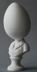 Matt Smith, 'Egghead Bust (Large)', 2018