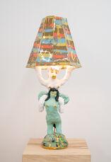Horse Lady Lamp