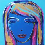 Female Face Icon IV