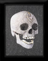 Damien Hirst, ''For The Love of God, Laugh' Skull with Diamond Dust', 2007