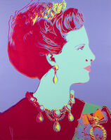 Andy Warhol, 'Queen Margrethe II from Reigning Queens Series, Unique Trial Proof', 1985