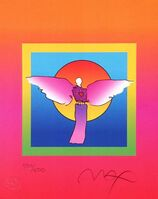Peter Max, 'Angel with Sun on Blends', 2005