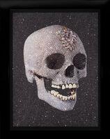 Damien Hirst, ''For The Love of God, Laugh' Diamond Dust Skull', 2007