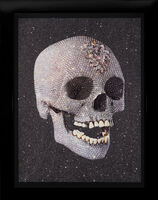 Damien Hirst, ''For The Love Of God' Laugh with Diamond Dust ', 2007