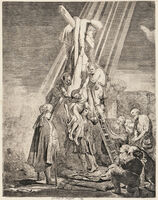 Rembrandt van Rijn, 'The Descent from the Cross', 1633-a 19th century impression