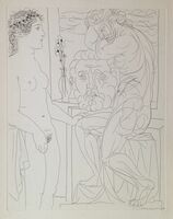 Pablo Picasso, 'Vollard Suite: Modele Nu et Sculptures', 1933