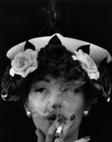 William Klein, 'Hat + Five Roses, Paris (Vogue)', 1956
