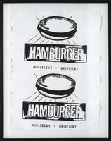 Andy Warhol, 'Hamburger', 1986